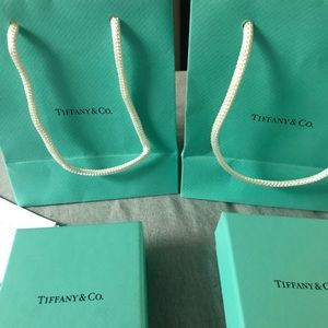 Tiffany & Co. Jewelry - Tiffany Box's and bags